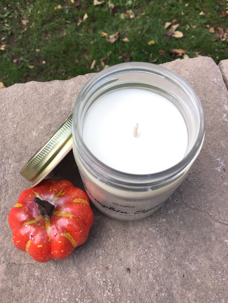"""Enter to win this candle at smelltheroses.com or purchase from the Carefull Candles Etsy Shop where code """"SMELLTHEROSES"""" saves you 20% off your entire order!"""