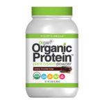 Orgain Chocolate Vegan Protein Powder Giveaway via smelltheroses.com