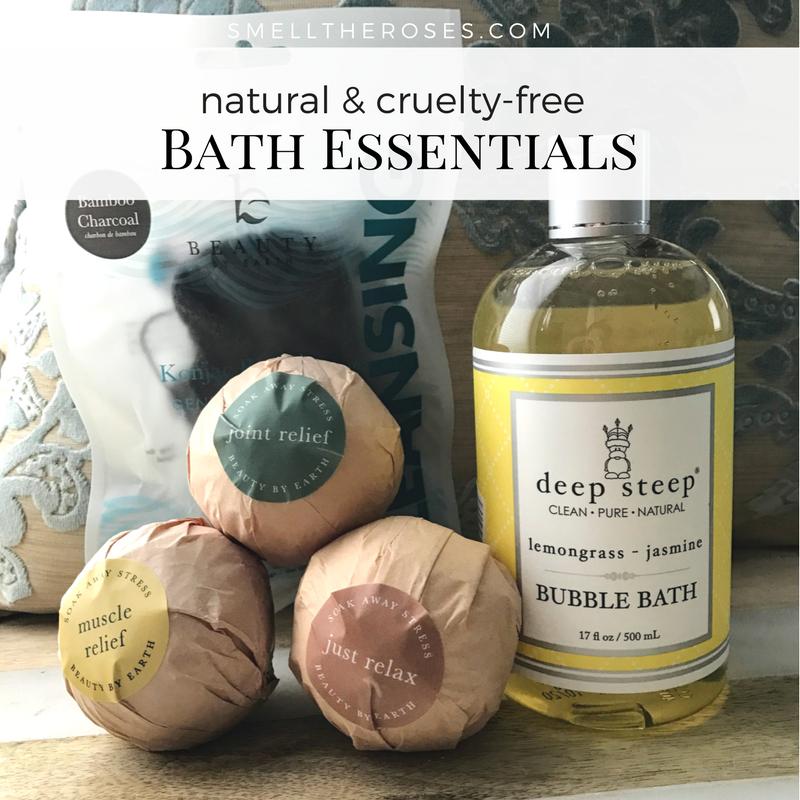 Bubble Bath Essentials via smelltheroses.com