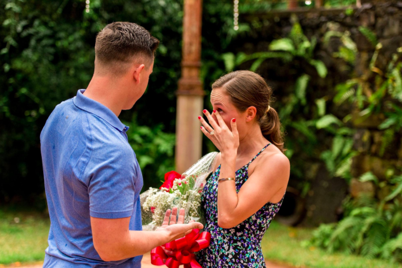 My Proposal Story | smelltheroses.com
