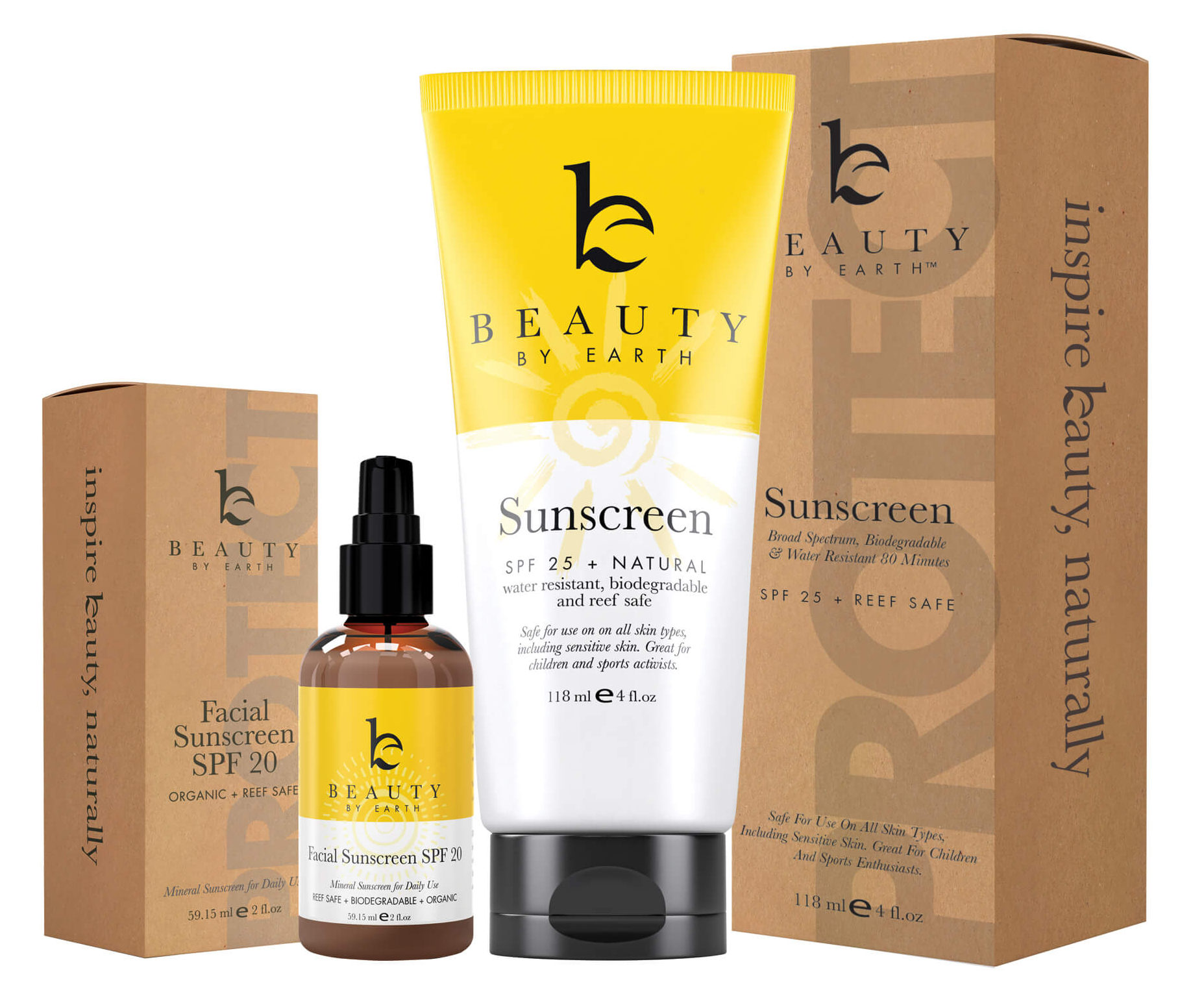Beauty by Earth Sunscreen | smelltheroses.com