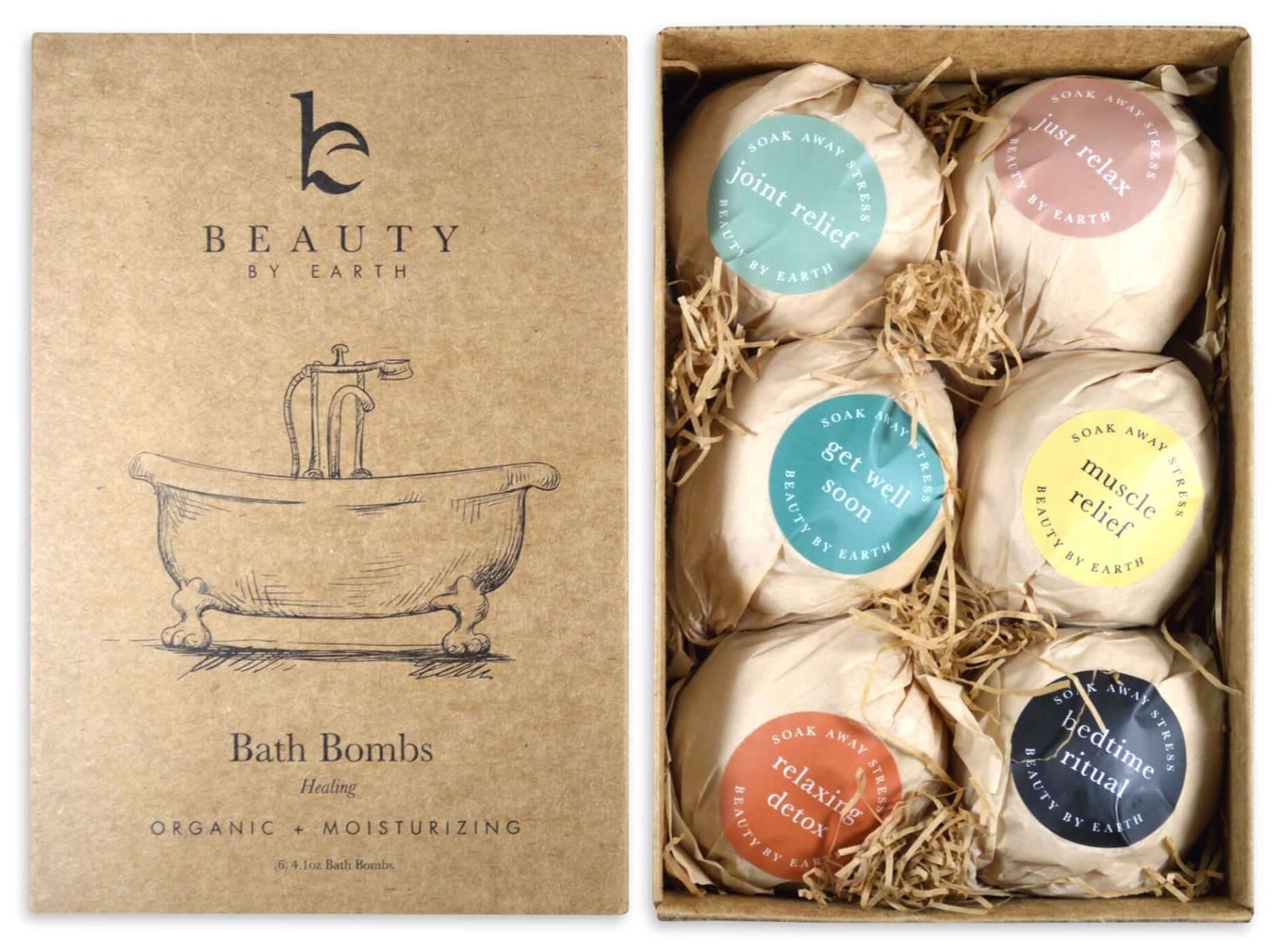 Beauty by Earth Bath Bombs | Mother's Day Gift Ideas | smelltheroses.com