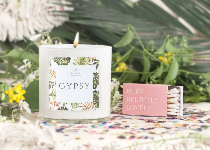 Gypsy Candle - Prim Botanicals | Mother's Day Gift Ideas | smelltheroses.com