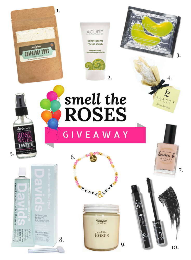 Birthday Giveaway | smelltheroses.com