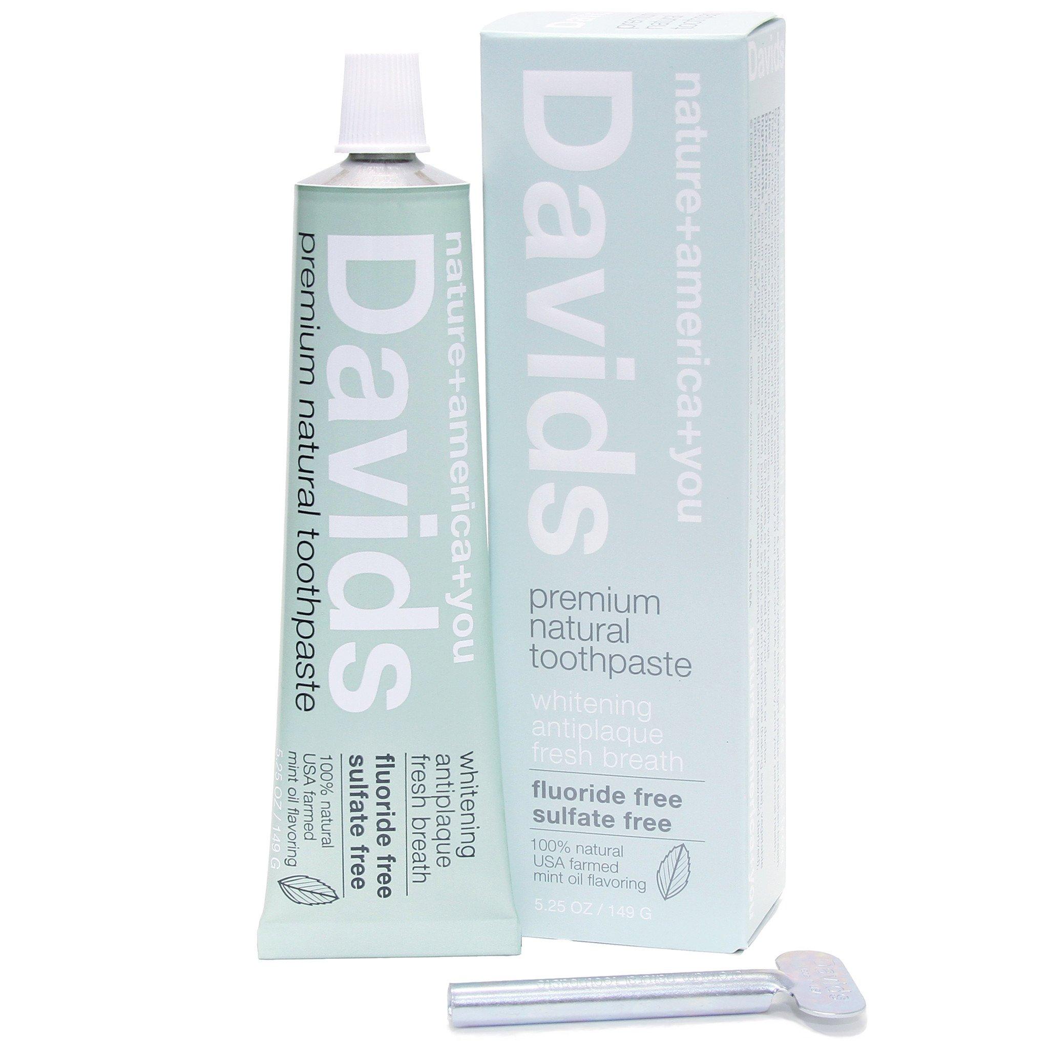 David's Toothpaste | smelltheroses.com