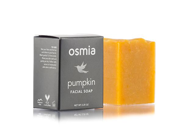 Osmia Pumpkin Facial Soap | smelltheroses.com