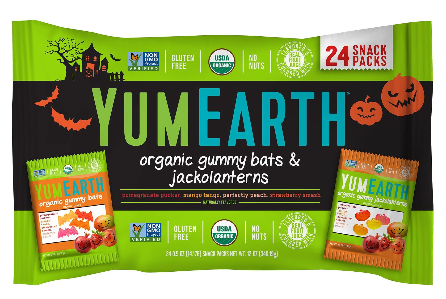 YumEarth Organic Gummies | smelltheroses.com