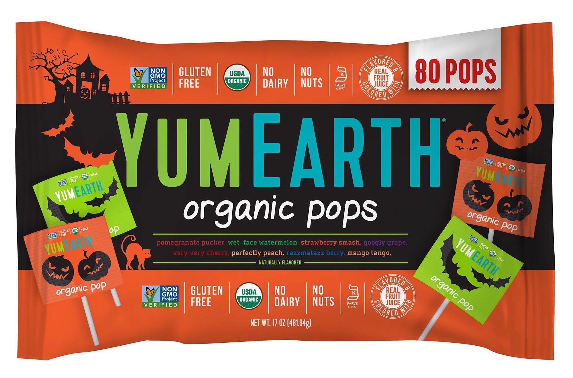 YumEarth Organic Pops | smelltheroses.com