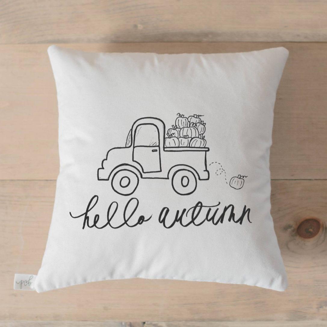 Autumn Pillow | smelltheroses.com
