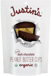 Justin's Dark Chocolate Peanut Butter Cups | smelltheroses.com