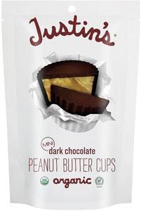Justin's Dark Chocolate Peanut Butter Cups | smelltheroses.com