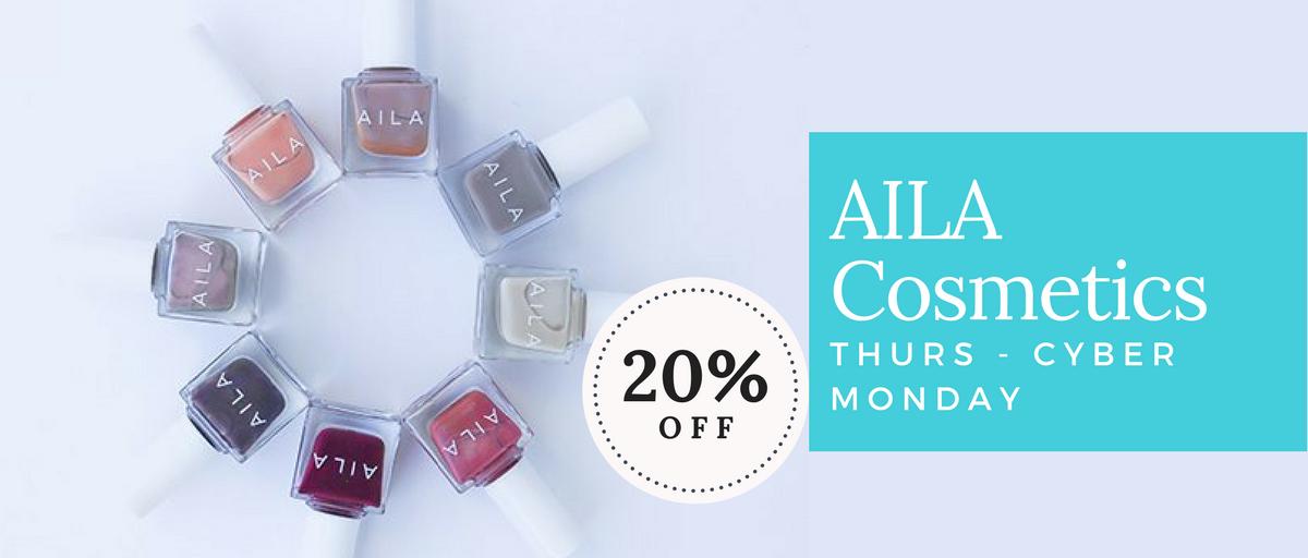 AILA Cosmetics Black Friday