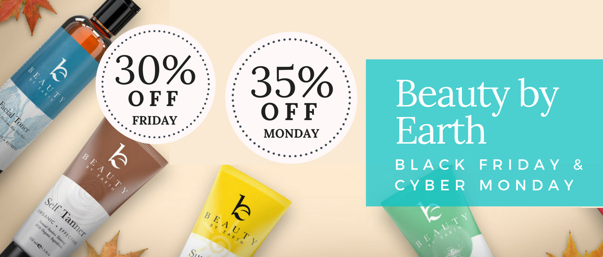 Beauty by Earth Black Friday & Cyber Monday