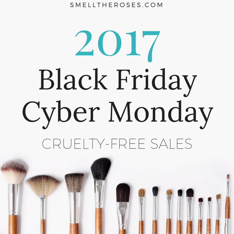 2017 Black Friday & Cyber Monday Cruelty-free Sales
