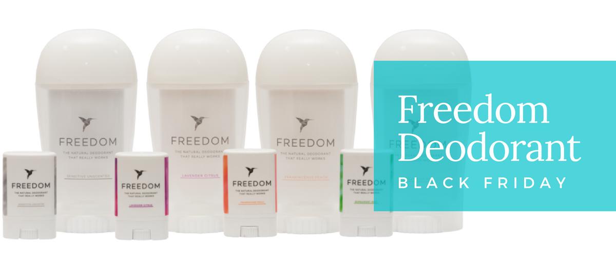 Freedom Deodorant Black Friday