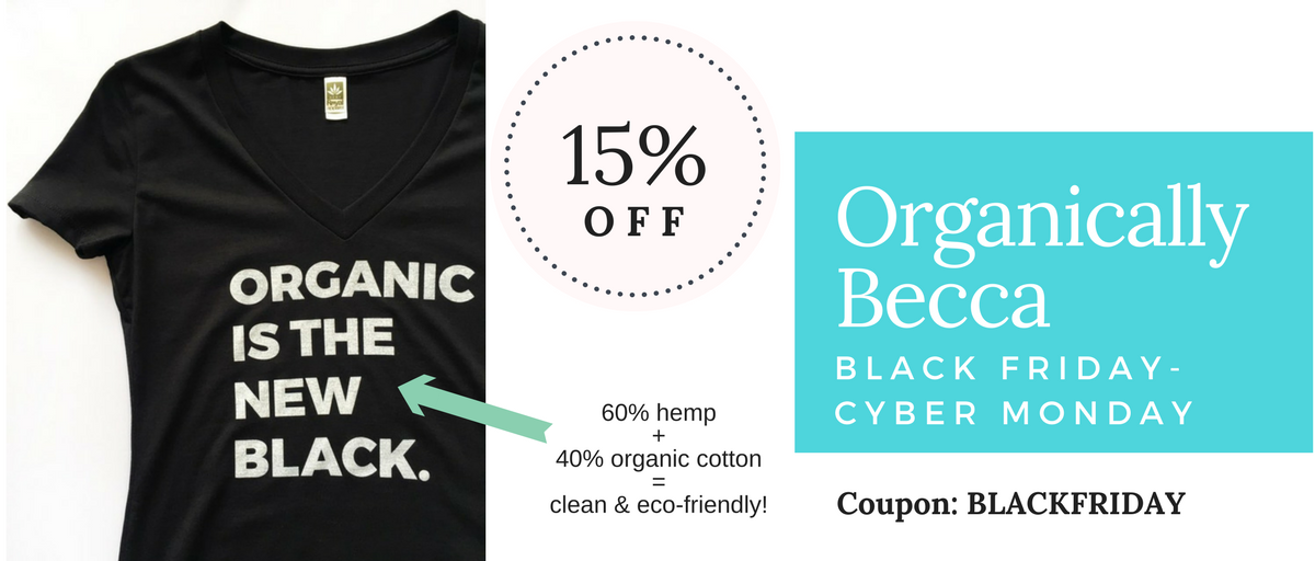 Organically Becca Black Friday and Cyber Monday
