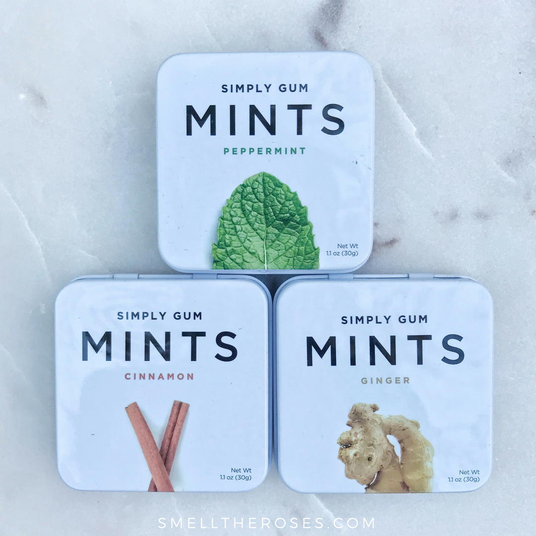 Simply Gum Mints Review | smelltheroses.com