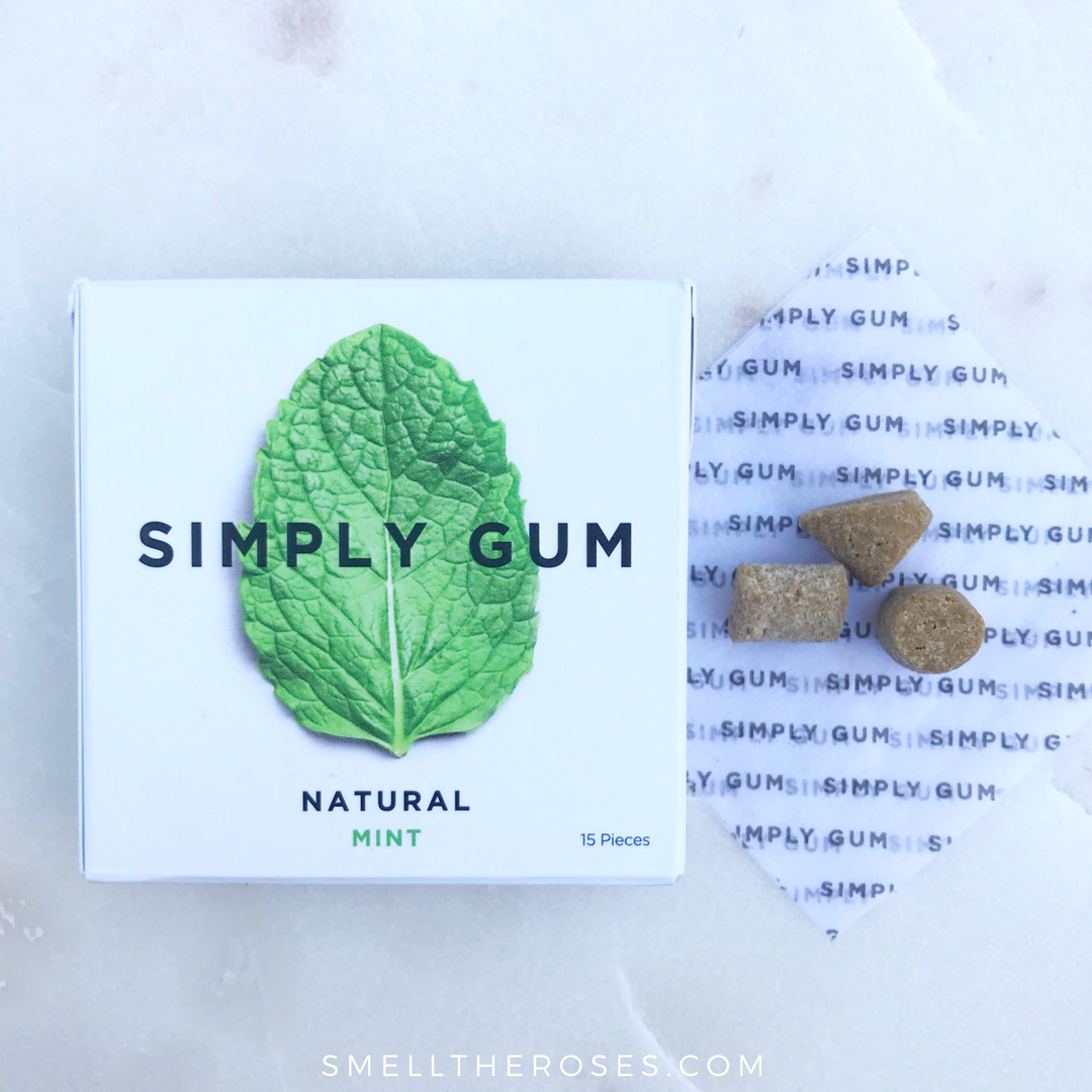 Simply Gum Review | smelltheroses.com