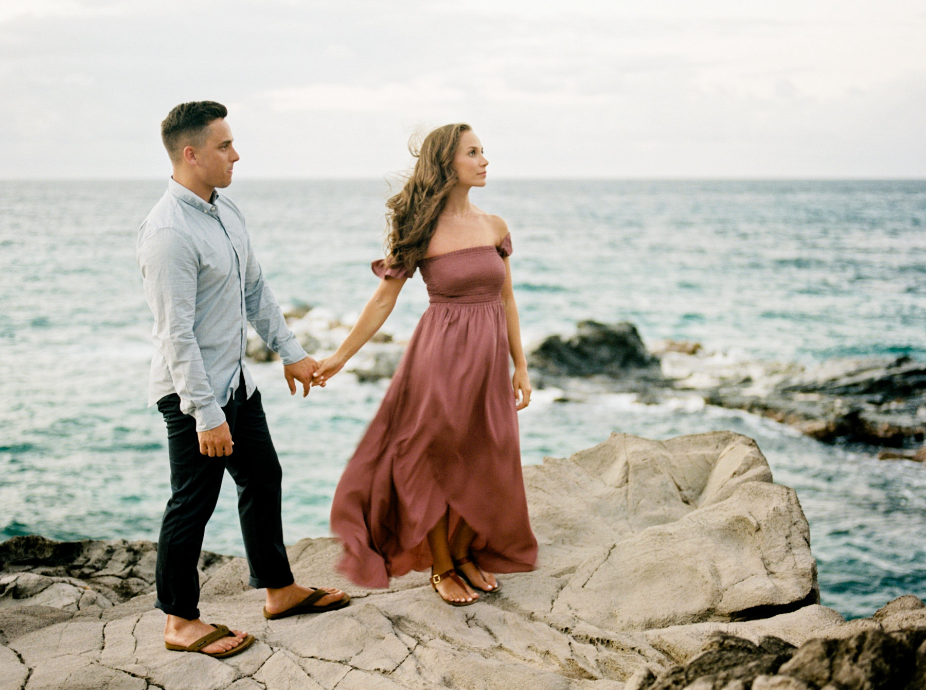 Maui Engagement Photos by Rebecca Arthurs | smelltheroses.com