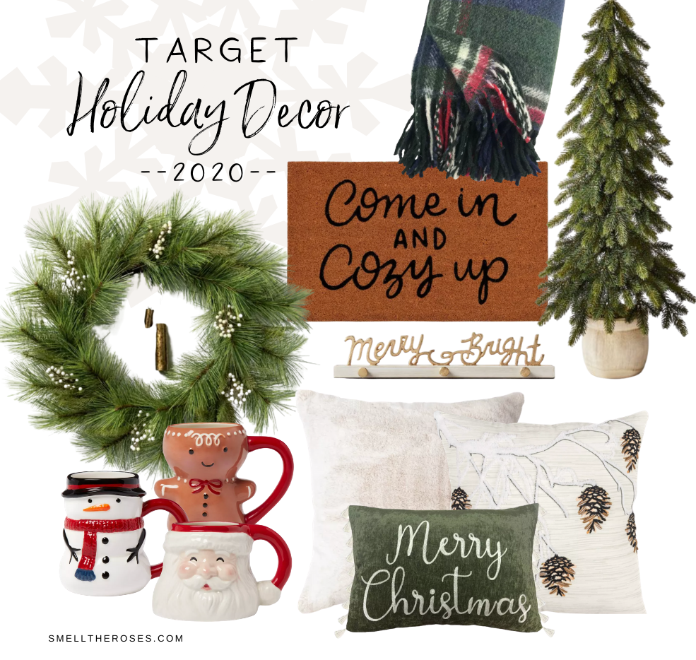 Home decor for the holiday season from Target
