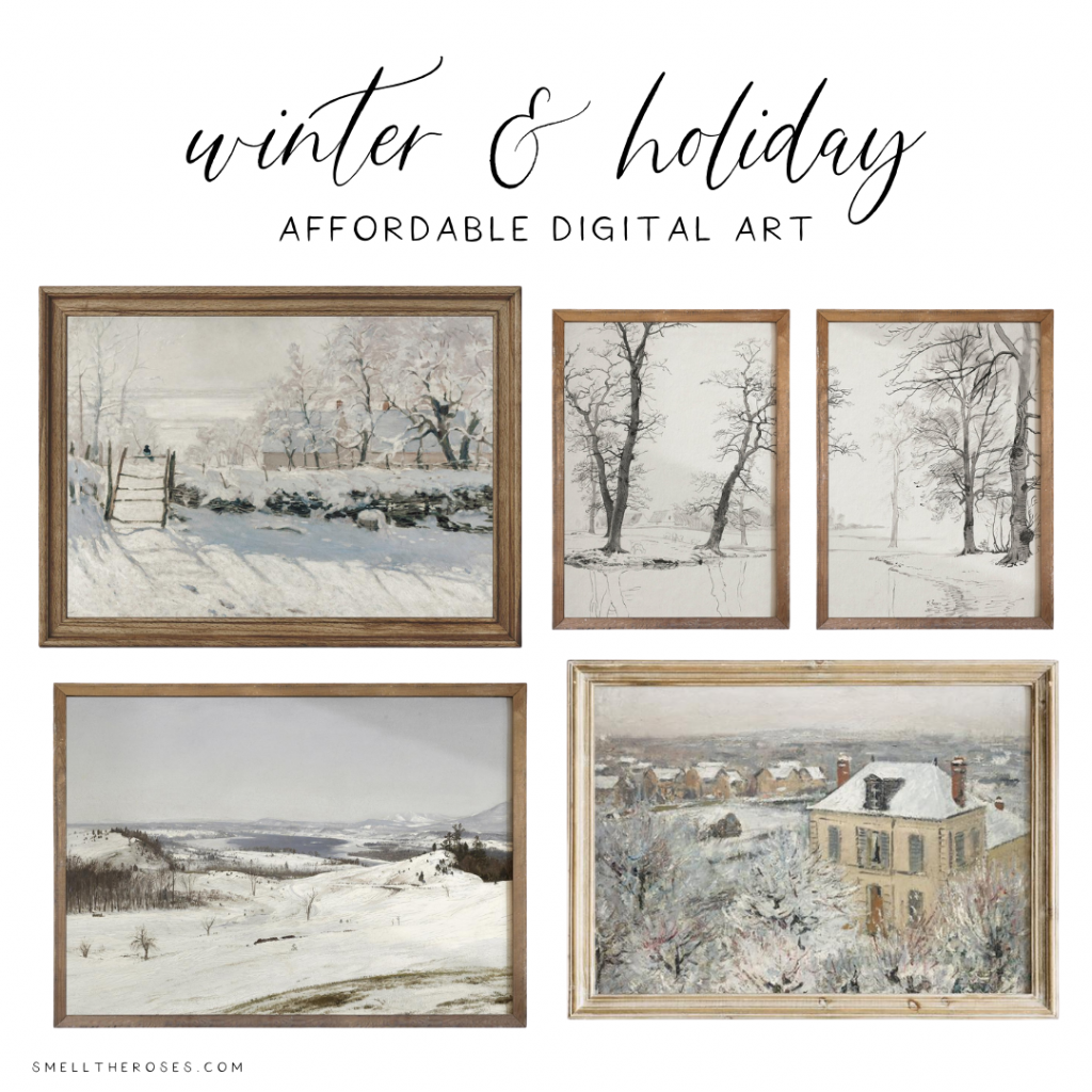 Affordable Winter Digital Art